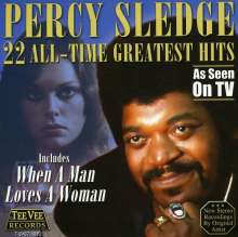 Percy Sledge: 22 All-Time Greatest Hits, CD