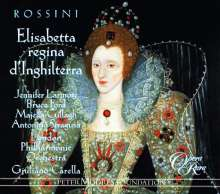 Gioacchino Rossini (1792-1868): Elisabetta Regina d'Inghilterra, 3 CDs