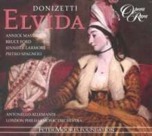 Gaetano Donizetti (1797-1848): Elvida, CD