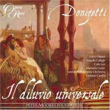 Gaetano Donizetti (1797-1848): Il Diluvio universale, 2 CDs