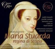 Saverio Mercadante (1795-1870): Maria Stuarda (Ausz.), CD