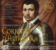Federico Ricci (1809-1877): Corrado D'Altamura (Ausz.), CD