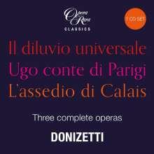 Gaetano Donizetti (1797-1848): 3 Opernraritäten (Opera Rara Classics), 7 CDs