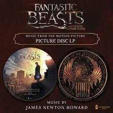 """James Newton Howard (geb. 1951): Filmmusik: Fantastic Beasts & Where To Find Them (Picture Disc), Single 12"""""""