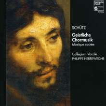 Heinrich Schütz (1585-1672): Geistl.Chormusik 1648 SWV 377-379,381,, CD
