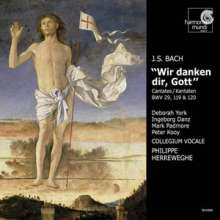 Johann Sebastian Bach (1685-1750): Kantaten BWV 29,119,120, CD