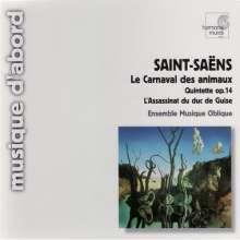 Camille Saint-Saens (1835-1921): Karneval der Tiere, CD