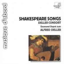Shakespeare-Lieder & Consortmusik, CD