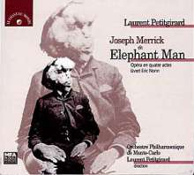 Laurent Petitgirard (geb. 1950): Joseph Marrick,The Elephant Man, 2 CDs