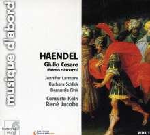 Georg Friedrich Händel (1685-1759): Giulio Cesare in Egitto (Ausz.), CD