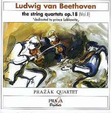 Ludwig van Beethoven (1770-1827): Streichquartette Nr.2,3,6, CD