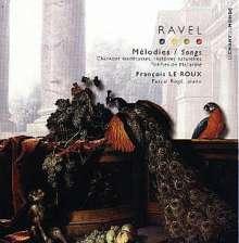 Maurice Ravel (1875-1937): Lieder, CD