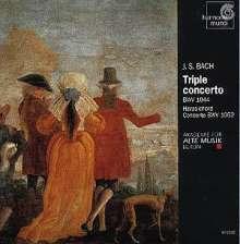 Johann Sebastian Bach (1685-1750): Tripelkonzert BWV 1044, CD