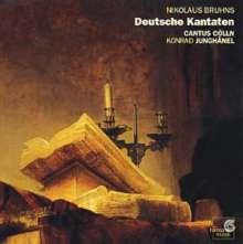 Nicolaus Bruhns (1665-1697): Deutsche Kantaten, CD