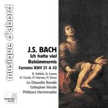 Johann Sebastian Bach (1685-1750): Kantaten BWV 21 & 42, CD