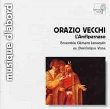 Orazio Vecchi (1550-1605): L'Amfiparnaso, CD