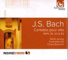 Johann Sebastian Bach (1685-1750): Kantaten BWV 35,53,82, CD