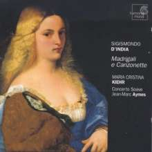 Sigismondo d'India (1582-1629): Madrigale & Canzonetten, CD