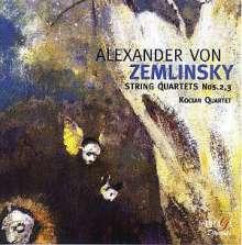 Alexander von Zemlinsky (1871-1942): Streichquartette Nr.2 & 3, CD