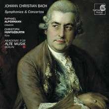Johann Christian Bach (1735-1782): Symphonien op.6 Nr.2 & 6, CD