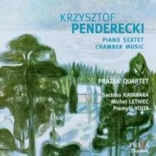 Krzysztof Penderecki (1933-2020): Sextett für Klarinette,Horn,Violine,Viola,Cello & Klavier, Super Audio CD