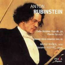 Anton Rubinstein (1829-1894): Sonaten f.Cello & Klavier Nr.1 & 2, 2 Super Audio CDs