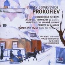 """Serge Prokofieff (1891-1953): Symphonie Nr.1 """"Klassische"""" (Version für 2 Klaviere), SACD"""