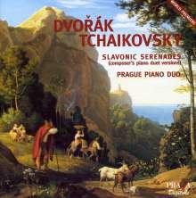 Antonin Dvorak (1841-1904): Serenaden op.22 & op.44 für Klavier 4-händig, Super Audio CD