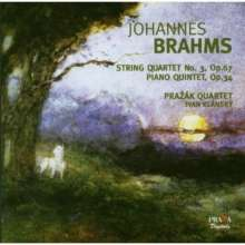 Johannes Brahms (1833-1897): Klavierquintett op.34, SACD