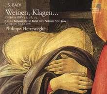 Johann Sebastian Bach (1685-1750): Kantaten BWV 12,38,75, CD