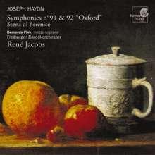 Joseph Haydn (1732-1809): Symphonien Nr.91 & 92, CD