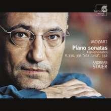 Wolfgang Amadeus Mozart (1756-1791): Klaviersonaten Nr.10-12, CD