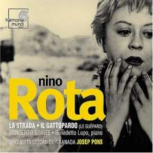 Nino Rota (1911-1979): Concerto Soiree für Klavier & Orchester, CD