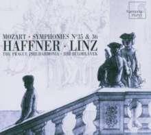 "Wolfgang Amadeus Mozart (1756-1791): Symphonien Nr.35 & 36 (""Haffner"" & ""Linzer""), CD"