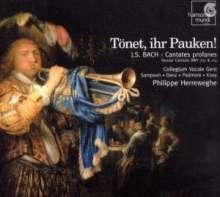 Johann Sebastian Bach (1685-1750): Kantaten BWV 207 & 214, CD
