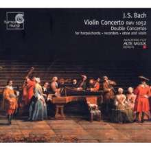 Johann Sebastian Bach (1685-1750): Violinkonzert BWV 1052, CD