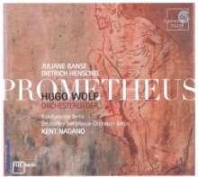 Hugo Wolf (1860-1903): Orchesterlieder, CD