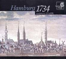 Andreas Staier - Hamburg 1734, CD