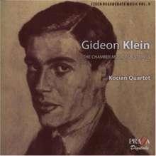 Gideon Klein (1919-1945): Streichquartett op.2, Super Audio CD