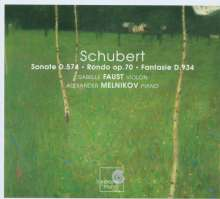 Franz Schubert (1797-1828): Sonate für Violine & Klavier D.574, CD