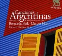 Bernarda Fink - Canciones Argentinas, CD