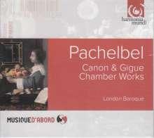 Johann Pachelbel (1653-1706): Musikalische Ergötzung für 2 Violinen & Bc, CD