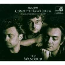 Johannes Brahms (1833-1897): Klaviertrios Nr.1-3, 2 CDs