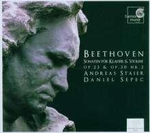 Ludwig van Beethoven (1770-1827): Violinsonaten Nr.4 & 7, CD