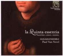 Huelgas Ensemble - A quinta essentia, CD
