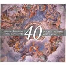 Huelgas Ensemble - A 40 Voix (Les sommets de la polyphonie), SACD