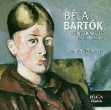 Bela Bartok (1881-1945): Streichquartette Nr.1 & 2, Super Audio CD