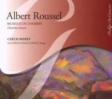 Albert Roussel (1869-1937): Serenade für Flöte,Harfe & Streicher op.30, CD