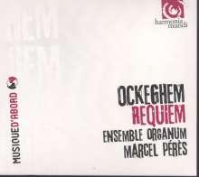 Johannes Ockeghem (1430-1497): Missa pro defunctis (Requiem), CD