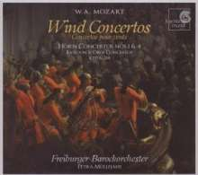 Wolfgang Amadeus Mozart (1756-1791): Hornkonzerte Nr.1 & 4, CD